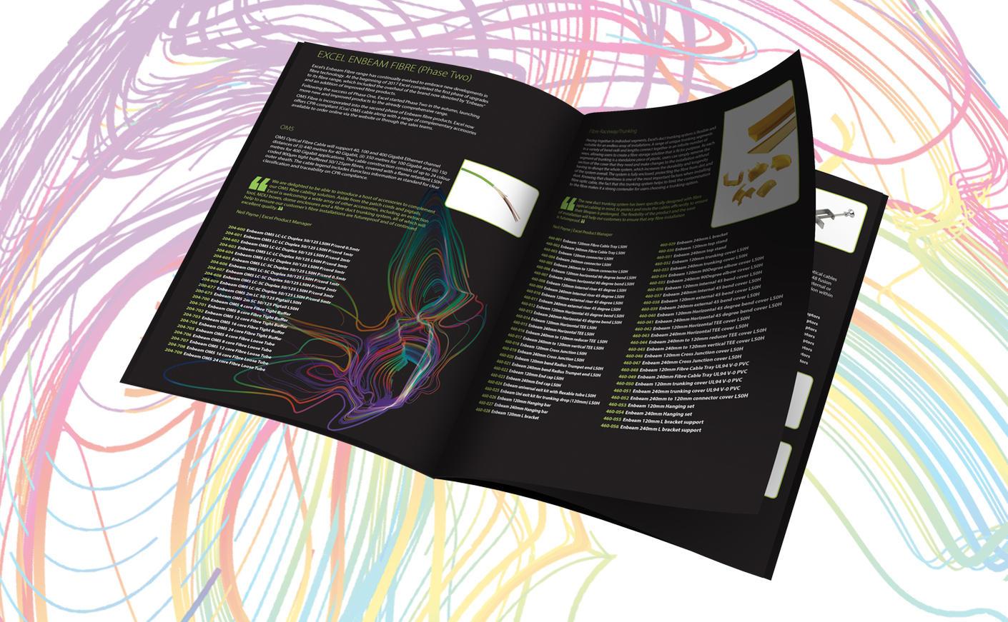 Brochure met Nieuwe Producten 2017/18